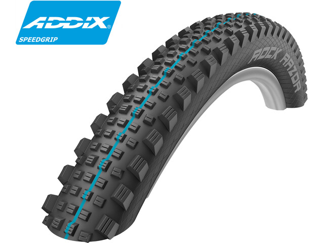 "SCHWALBE Rock Razor Vouwband 27,5"" SnakeSkin TLE Apex Evolution Addix Speedgrip, black"